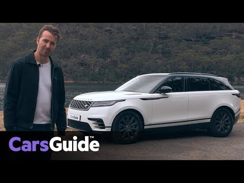 Range Rover Velar SE R-Dynamic D300 2017 review: video - Dauer: 10 Minuten