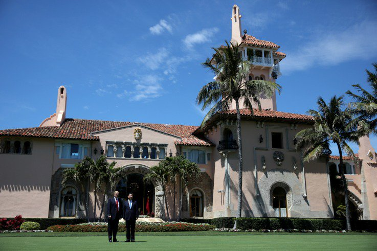 Trump is the first president to give high-paying private club members jobs in government