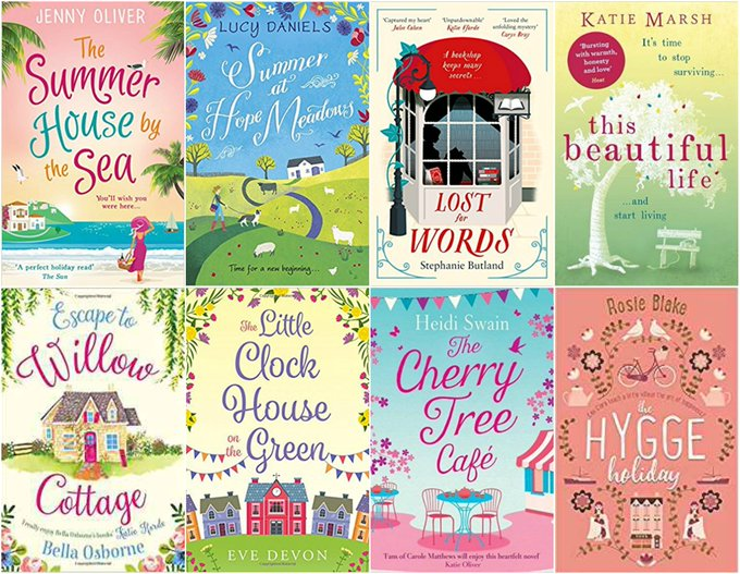 Eight Wonderful Books Giveaway