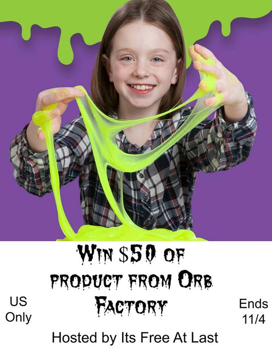 $50 of Product From Orb Factory-1-US-Ends 11/4