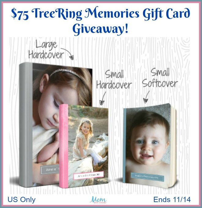 $75 TreeRing Memories Gift Card-1-US-Ends 11/14