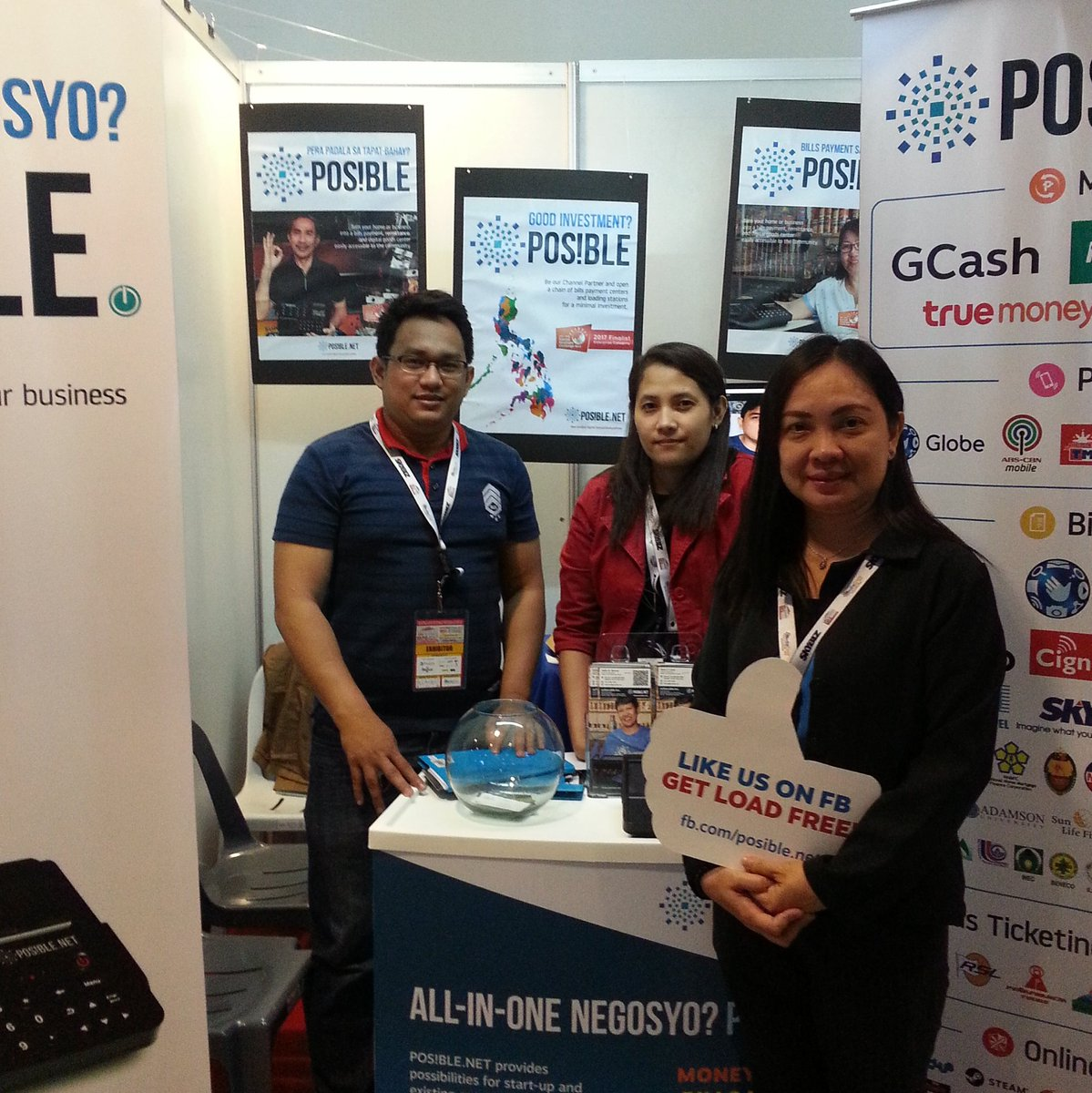 test Twitter Media - Let's talk #business #billspay #money #remittance here at SMX Manila! Visit the #Posible booth at #PhilSME2017 until 7pm only today https://t.co/cew9WU4hOV
