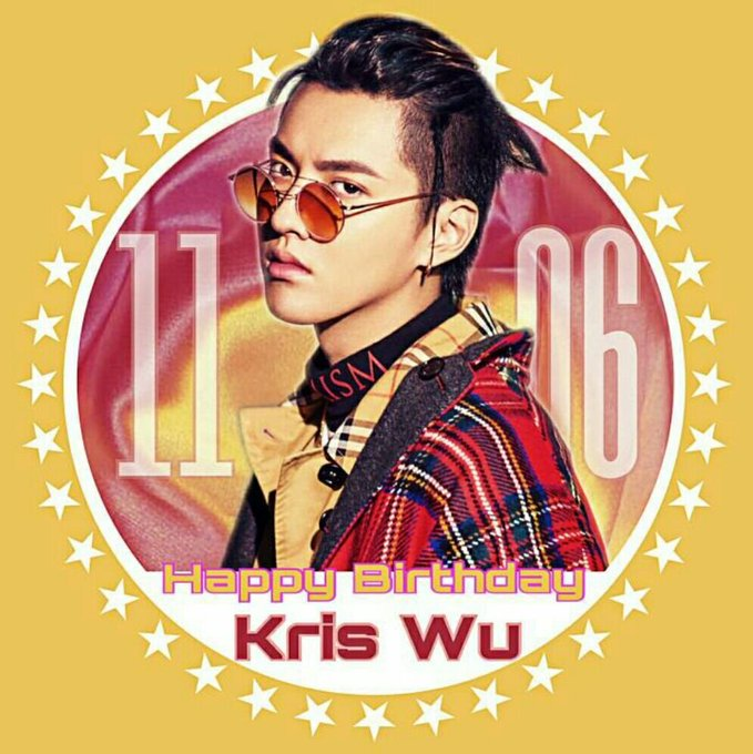 1106     happy birthday to Kris Wu