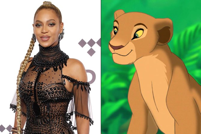 Meet the cast of Disney's live-action LionKing: