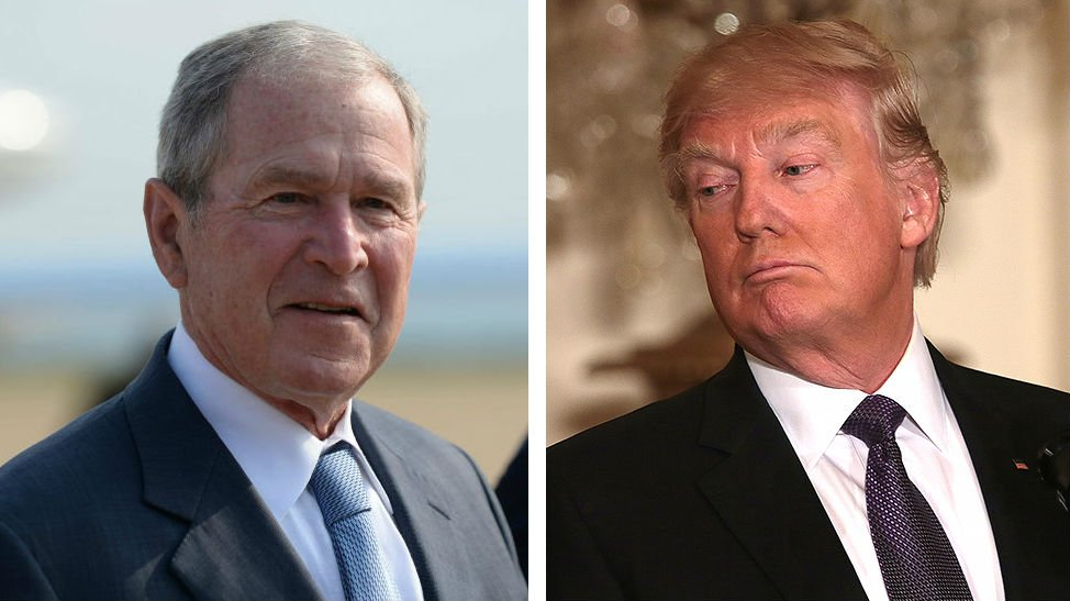"George W. Bush on Trump: ""This guy doesn't know what it means to be president"""