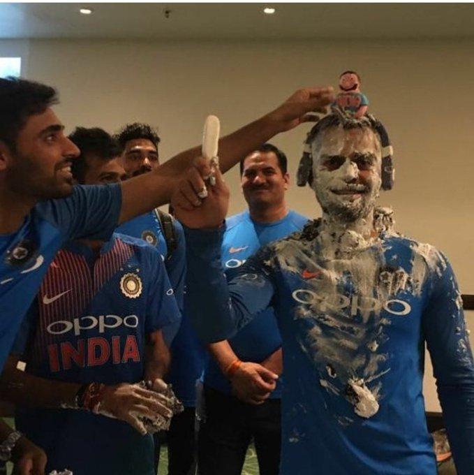 Happy Birthday Virat Kohli.