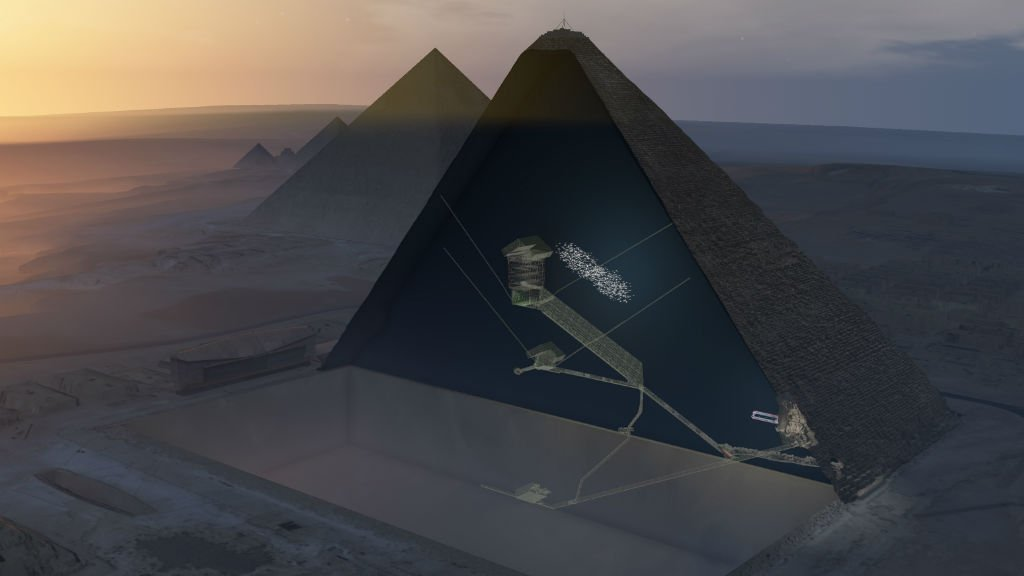 Egypt archaeologist criticises void 'discovery' in Great Pyramid