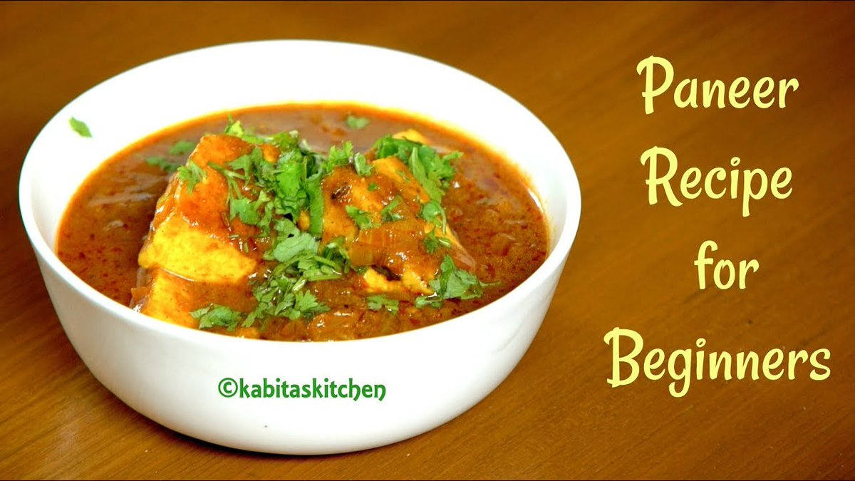 Paneer Recipe for Beginners | Easy Paneer Masala | Paneer Recipes | KabitasKitchen
