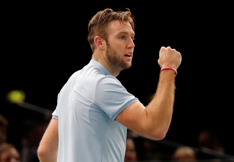 Tennis: Sock on the brink of Tour finals with Paris win