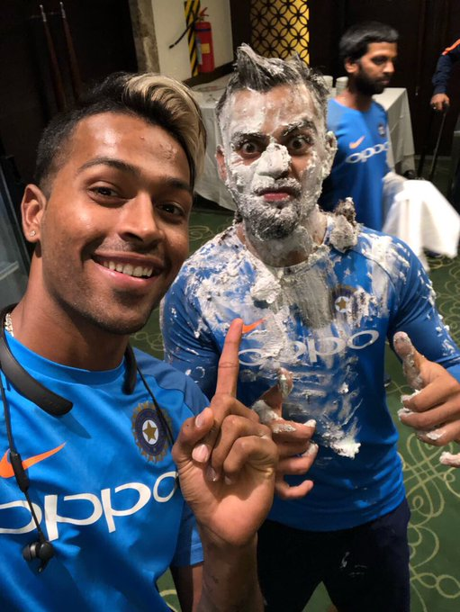 Revenge no. 1 Happy birthday, skipper- Virat Kohli