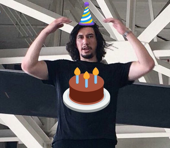 A big happy birthday to our big mans, adam driver