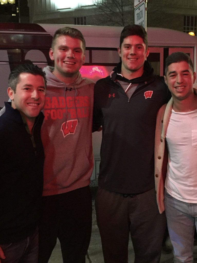 test Twitter Media - We would head to dinner in Madison and get to hang with the starting QB of the Badgers 11-0 Team @heydaidone. Lead us to Indi Alex! https://t.co/TIfDwzLwm0
