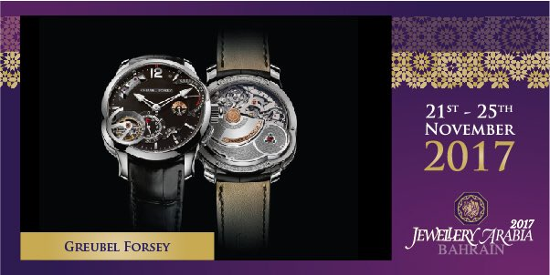 test Twitter Media - The Grande Sonnerie is well and truly Greubel Forsey's most complex creation to date. The most important elements and indications were incorporated with the greatest care to ensure architectural balance 💍 #greubelforsey #jewelleryarabia2017 #elegant #beautiful #classy https://t.co/vuxklHOKja
