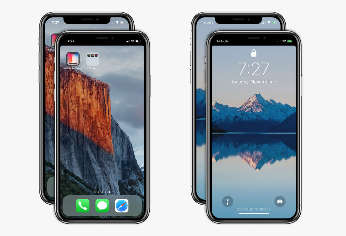 iPhone X 'notch remover' now available in App Store https://t.co/i3o3zV4B4z https://t.co/vpFNc5XYqT