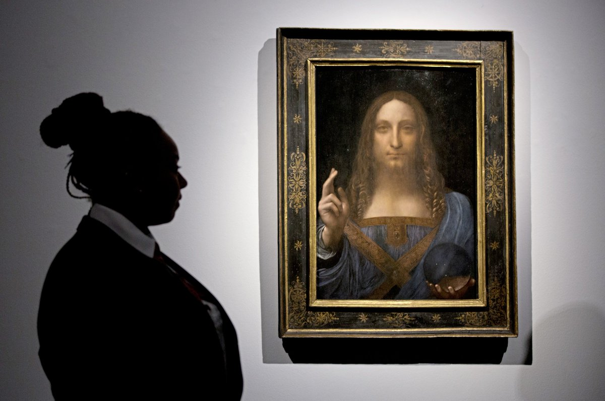 Local resident's family owned $450m. Da Vinci