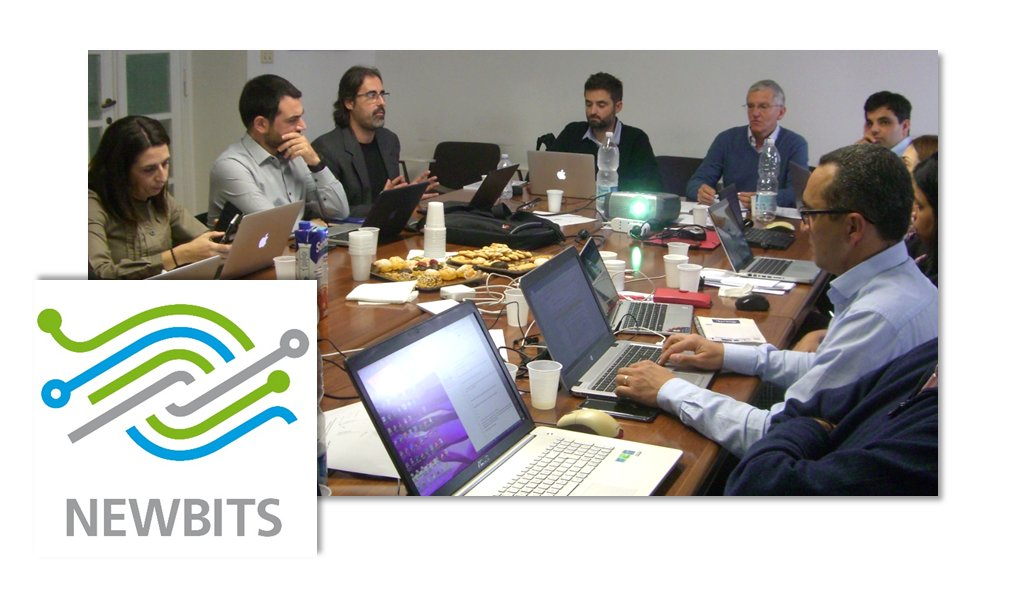 test Twitter Media - Work and progress on the 2nd day of the @EU_H2020 @NEWBITS_CITS project meeting in #Rome ! 📊 🖊️ ☕️ https://t.co/p09fzw4U6d