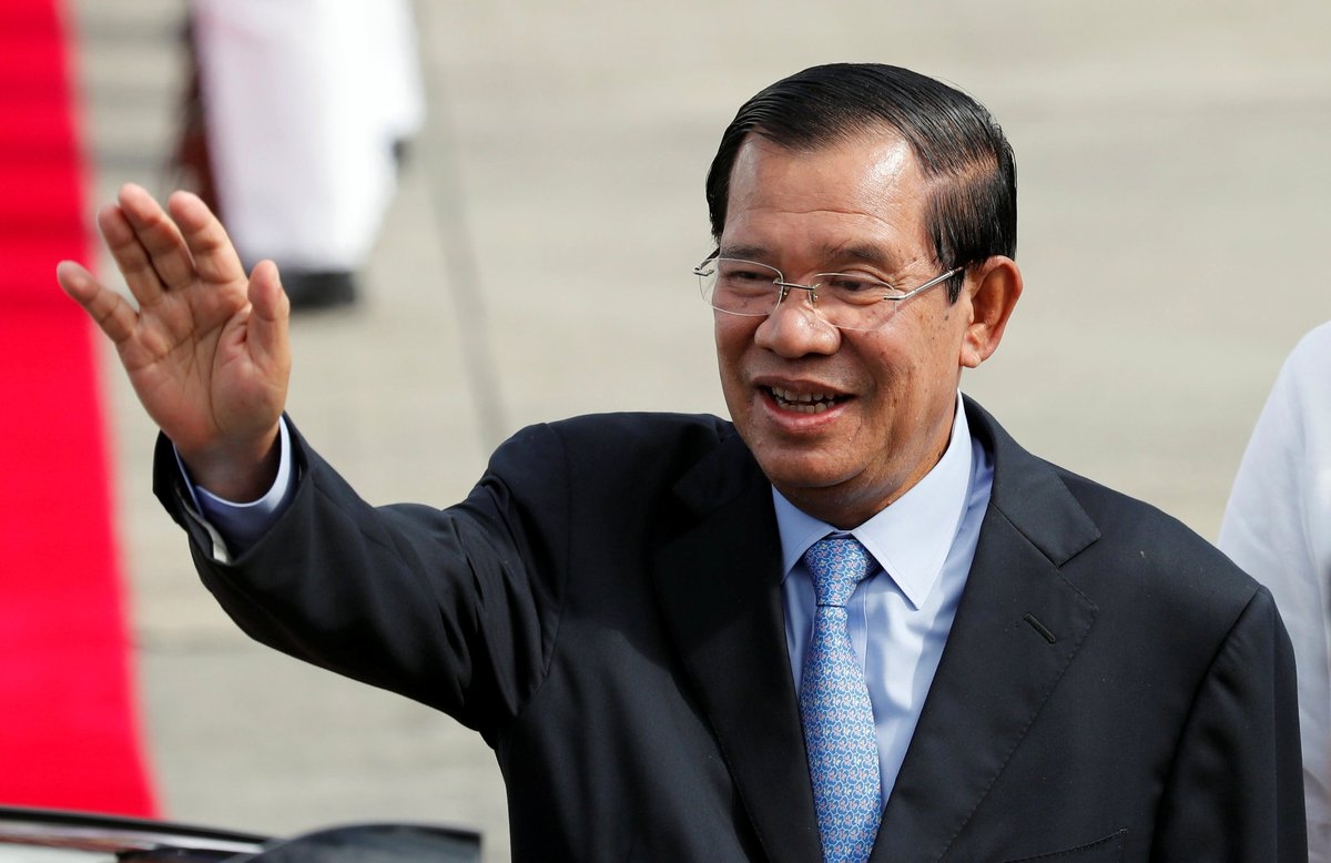 China backs Hun Sen's 'development path' after dissolution of Cambodia opposition
