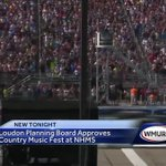 Loudon planning board approves country music festival at NHMS