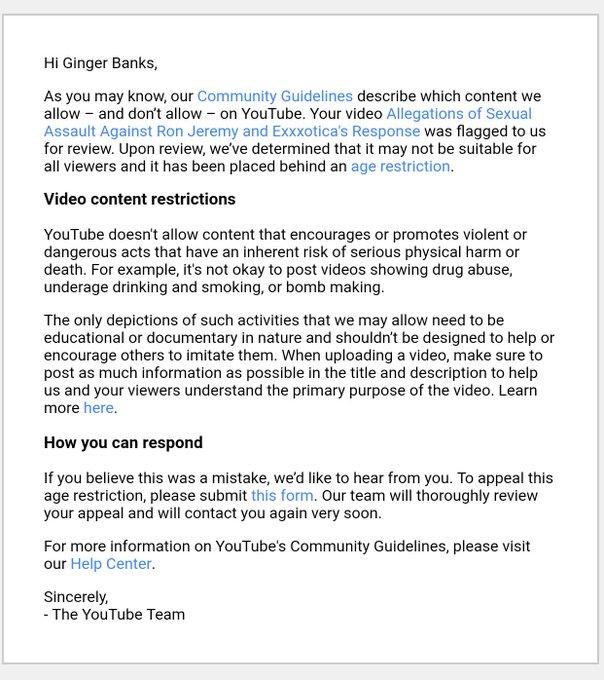 @newspornworld @YouTube Ok YouTube. https://t.co/gIzjwrNpgT