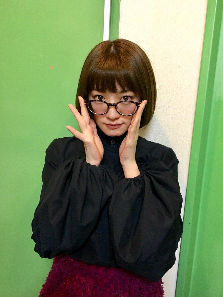 今夜はFM FUJI「沈黙の金曜日」、中田花奈登場です!  めがね女子!  皆さま、ぜひお聴きください! #沈黙...