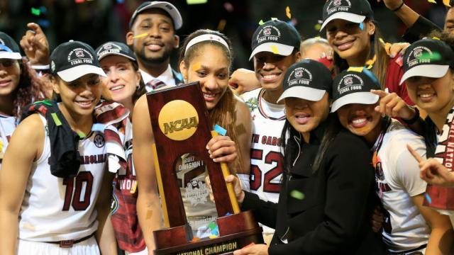South Carolina women's basketball team declines invitation to Trump White House