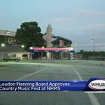Loudon officials approve country music festival at NHMS