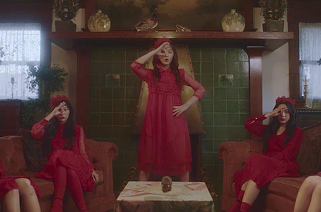 "Red Velvet drops ""Perfect Velvet"" album! Watch the haunting ""Peek-A-Boo"" music video"