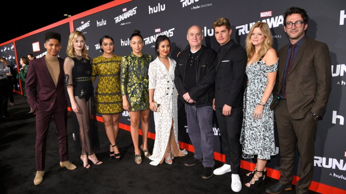 Marvel's Runaways stars praise series' diversity at @Hulu premiere