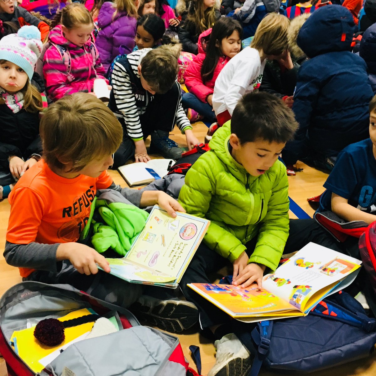test Twitter Media - These students couldn't wait to pull out their books and read this morning. #fridayflagraising #d30learns https://t.co/DQsM5uLNzH