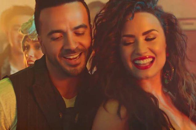 "Have you seen Luis Fonsi & Demi Lovato's ""Echame La Culpa"" music video yet?"