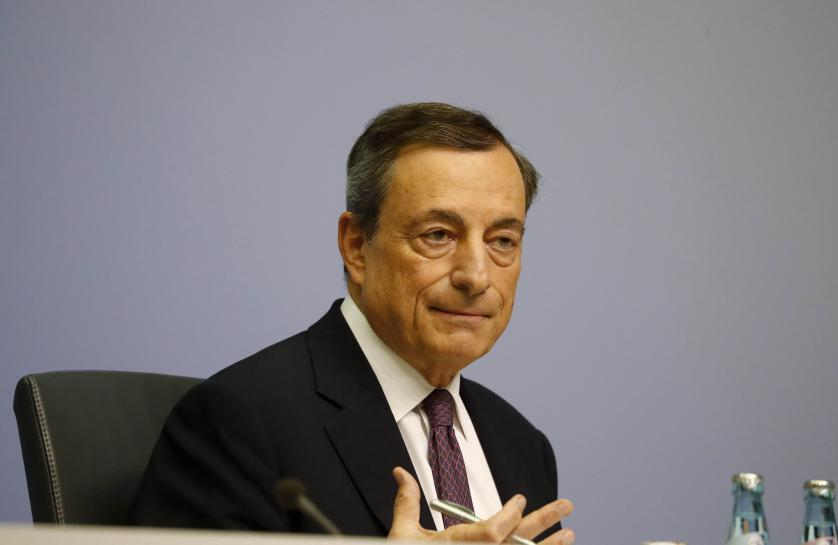 Cheap ECB cash still key for euro zone economy: Draghi