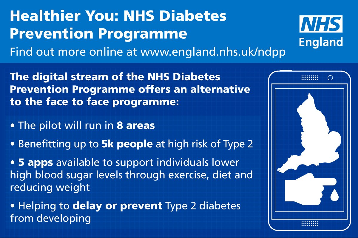 test Twitter Media - Thousands of people set to access #diabetes and #obesity prevention services. @NHSEngland and @DiabetesUK have teamed up with leading companies from the tech sector as the battle against obesity and #Type2 diabetes goes digital: https://t.co/YouCjdgzCx https://t.co/bCffSktsxa