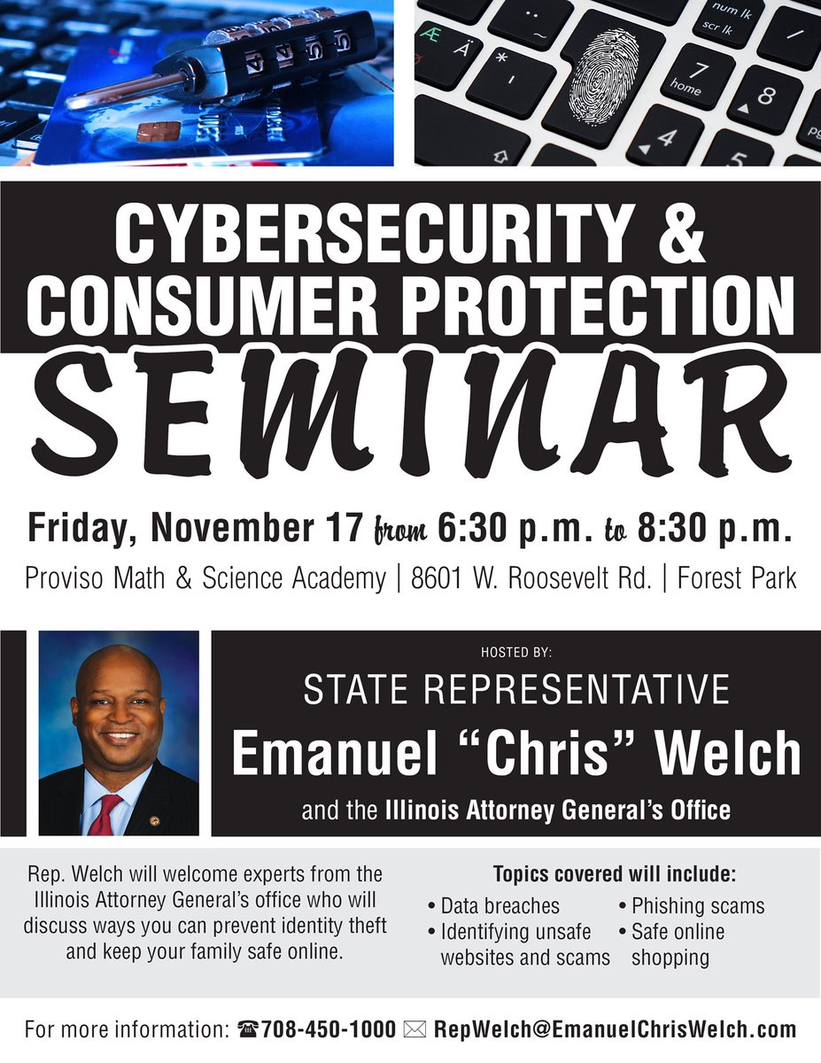 test Twitter Media - Will you be online shopping for the holidays on Cyber Monday?  Will you be donating money online on Giving Tuesday?  Anyone ever hacked your Facebook account?  Come out tonight to our Cyber Security and Consumer Protection Event to learn how you can protect yourself. https://t.co/DiSPthqO8x