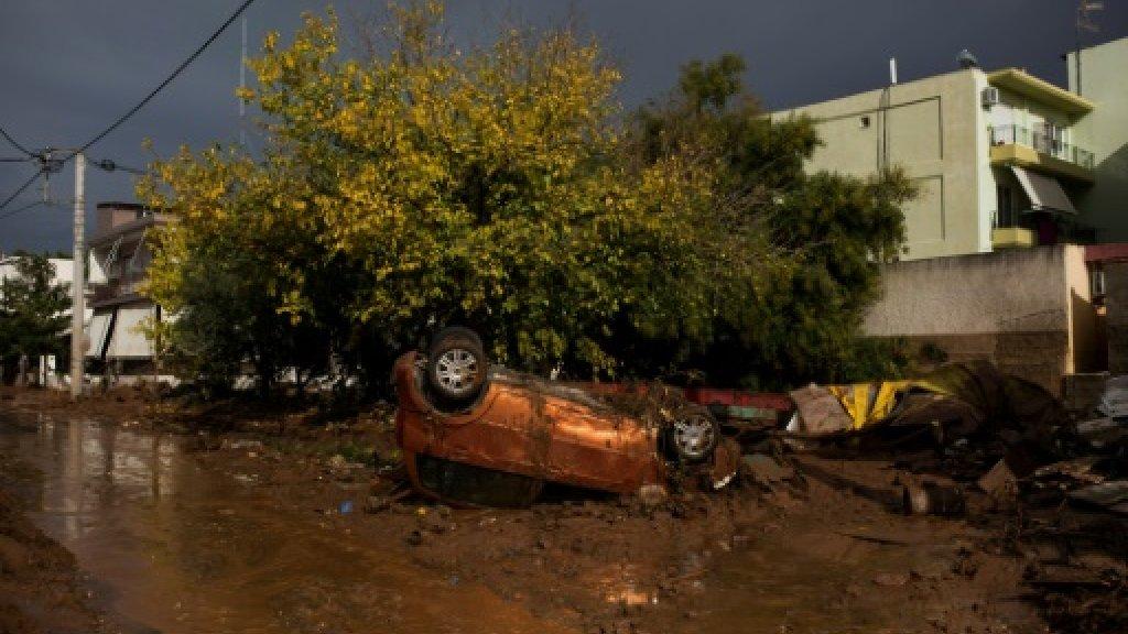Six missing after deadly Greek floods