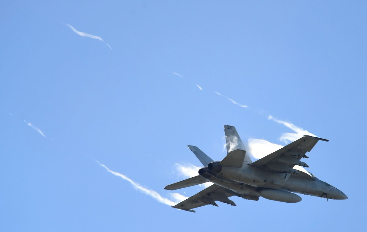 A pilot drew a penis in the sky, forcing the U.S. military to apologize