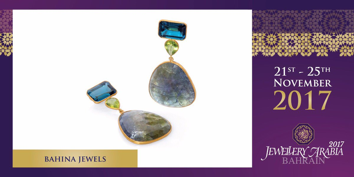 test Twitter Media - The Bahina Jewels designs are playful and unique – an expression of the joy of life and as individual as the person who wears them 💍 #bahinajewels #jewelleryarabia2017 #elegant #beautiful #classy https://t.co/YhCRVS5aLz
