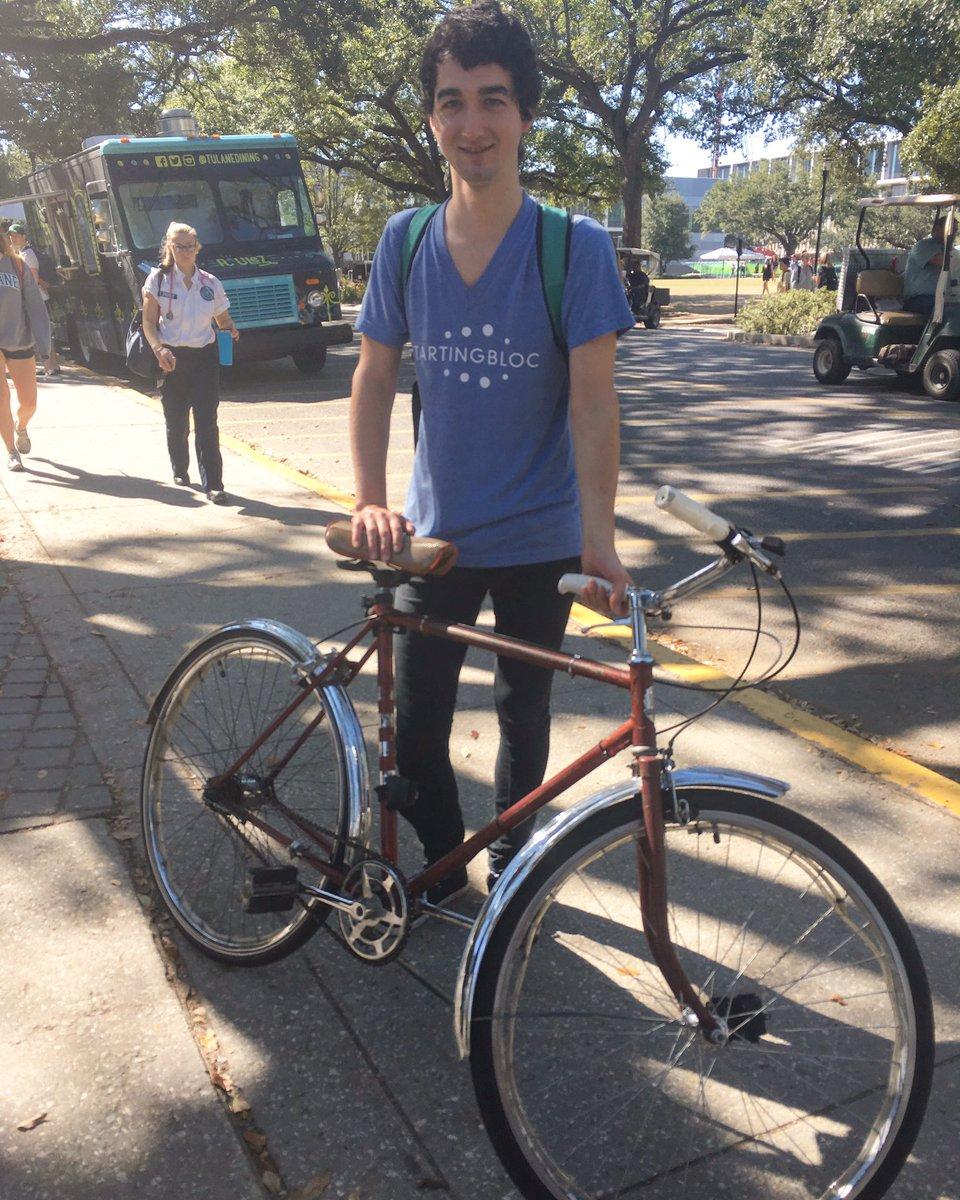 #iBikeNOLA 'because #BiketoWorkDay got me started on commuting to work on bike' https://t.co/jIMuuGbN7F