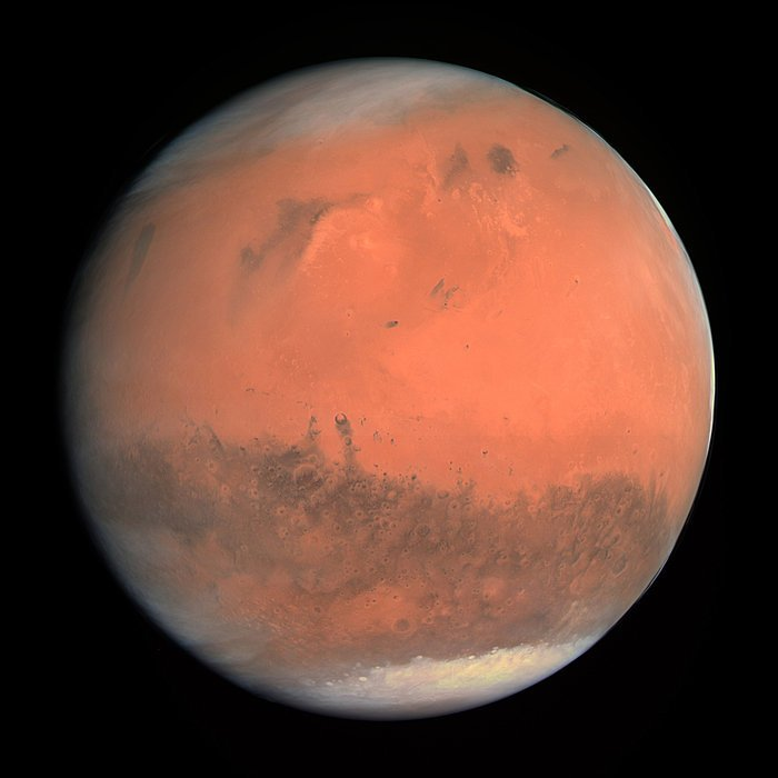Is Life Locked in Ice on Mars?