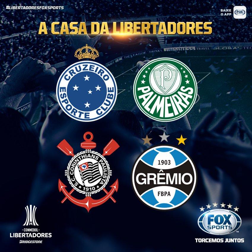 🌍🏆 Só dá RT quem já está classificado para a #LibertadoresFOXSports 2018!