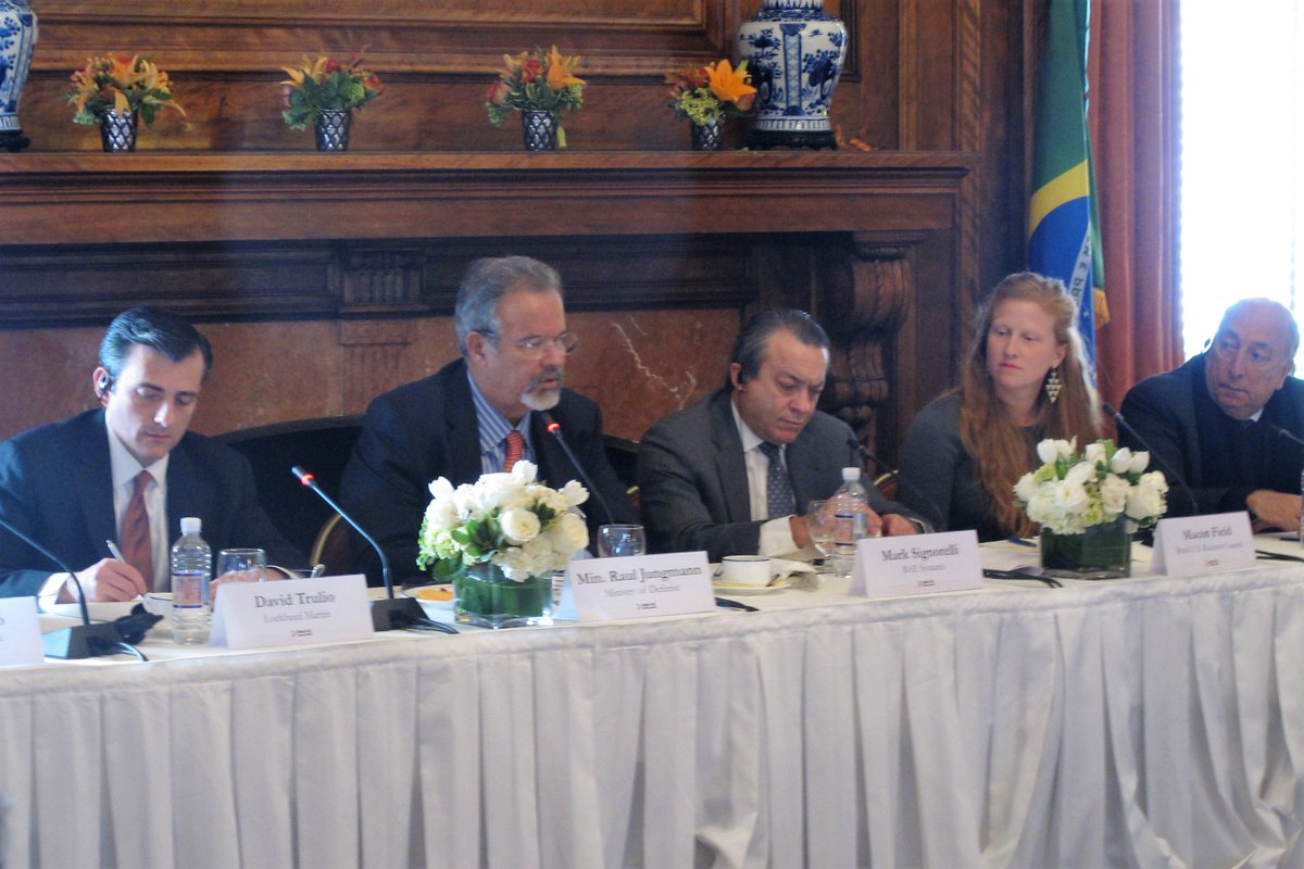 test Twitter Media - The @BUSBC hosted Brazil's Minister of Defense Raul Jungmann today for a breakfast discussion with the U.S. private sector. This meeting served as platform for a conversation on the Minister's priorities, including both near and long-term opportunities. https://t.co/j2k9zoGzvG https://t.co/F7PJcJ0kyX