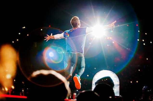 """Coldplay's """"Head Full Of Dreams"""" is the third highest grossing world tour of all time"""