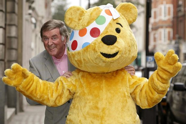 We still like to do a little salute to Terry this time of year. ❤️  #ChildrenInNeed https://t.co/O2AukqoUsr
