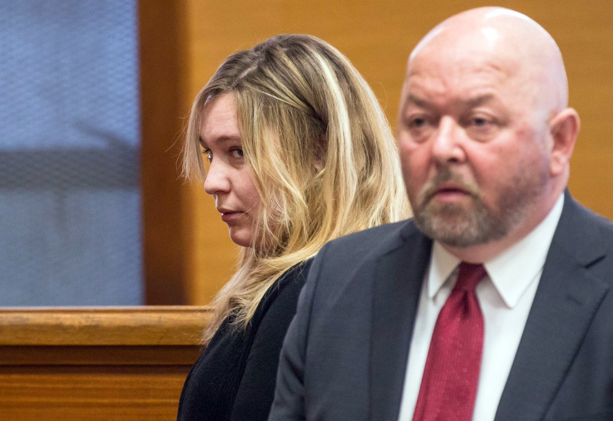 Judge's daughter in state police shakeup pleads guilty