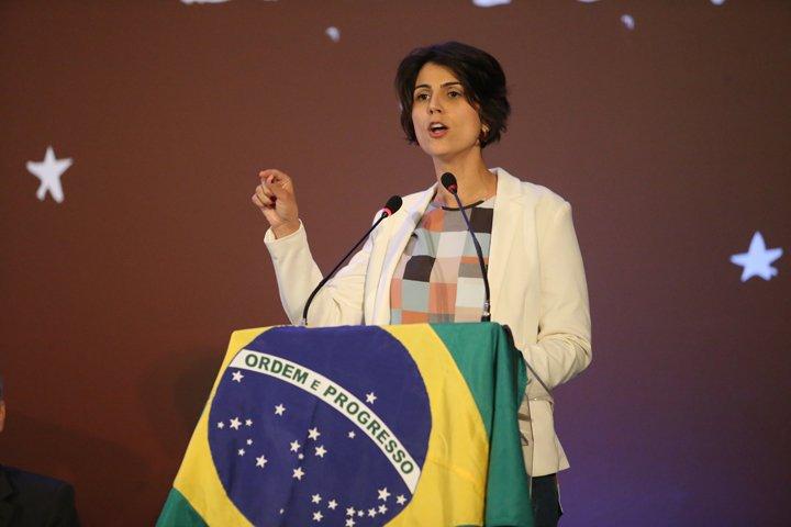 @BroadcastImagem: Pré-candidata do PCdoB à Presidência defende referendo sobre reforma trabalhista. Dida Sampaio/Estadão