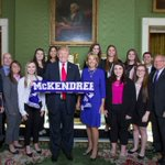 McKendree University women's bowling team honored at WhiteHouse