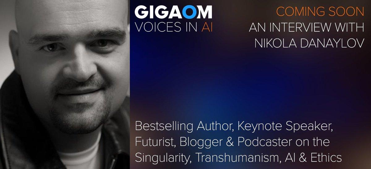 test Twitter Media - Coming Soon to @VoicesinAI Nikola Danaylov talks w/ @byronreese about #singularity, #consciousness, #AGI and more. @singularityblog From @Gigaom https://t.co/HzcmJfsoWV
