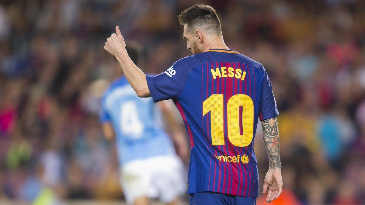 🔥 #Messi 🆚 Leganés 🔥 4️⃣⚽️ goles en 2️⃣👕 partidos📌 #LeganésBarça