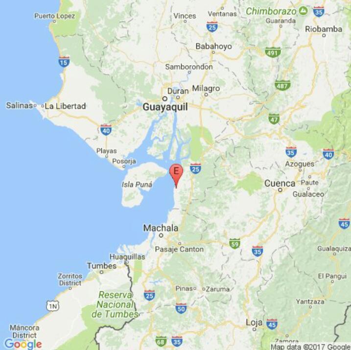 #SISMO de Mag5.9 Prof 10.00 km, 20.55km Balao,Guayas informa el @IGecuador