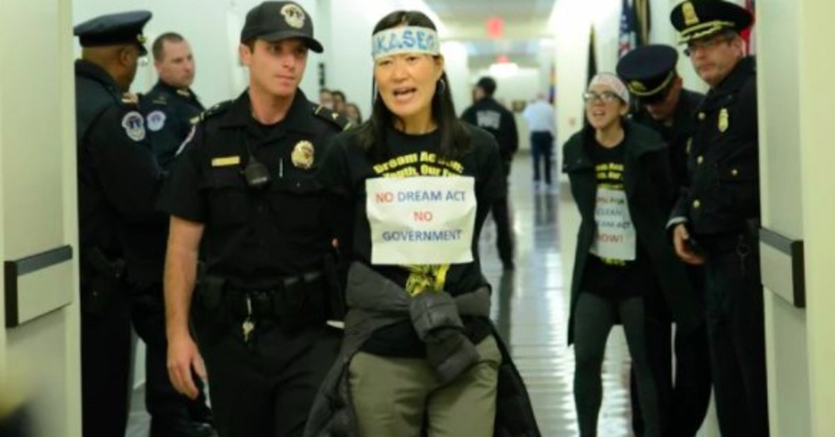 19 Asian-Americans arrested at Paul Ryan's office, pushing for Dream Act