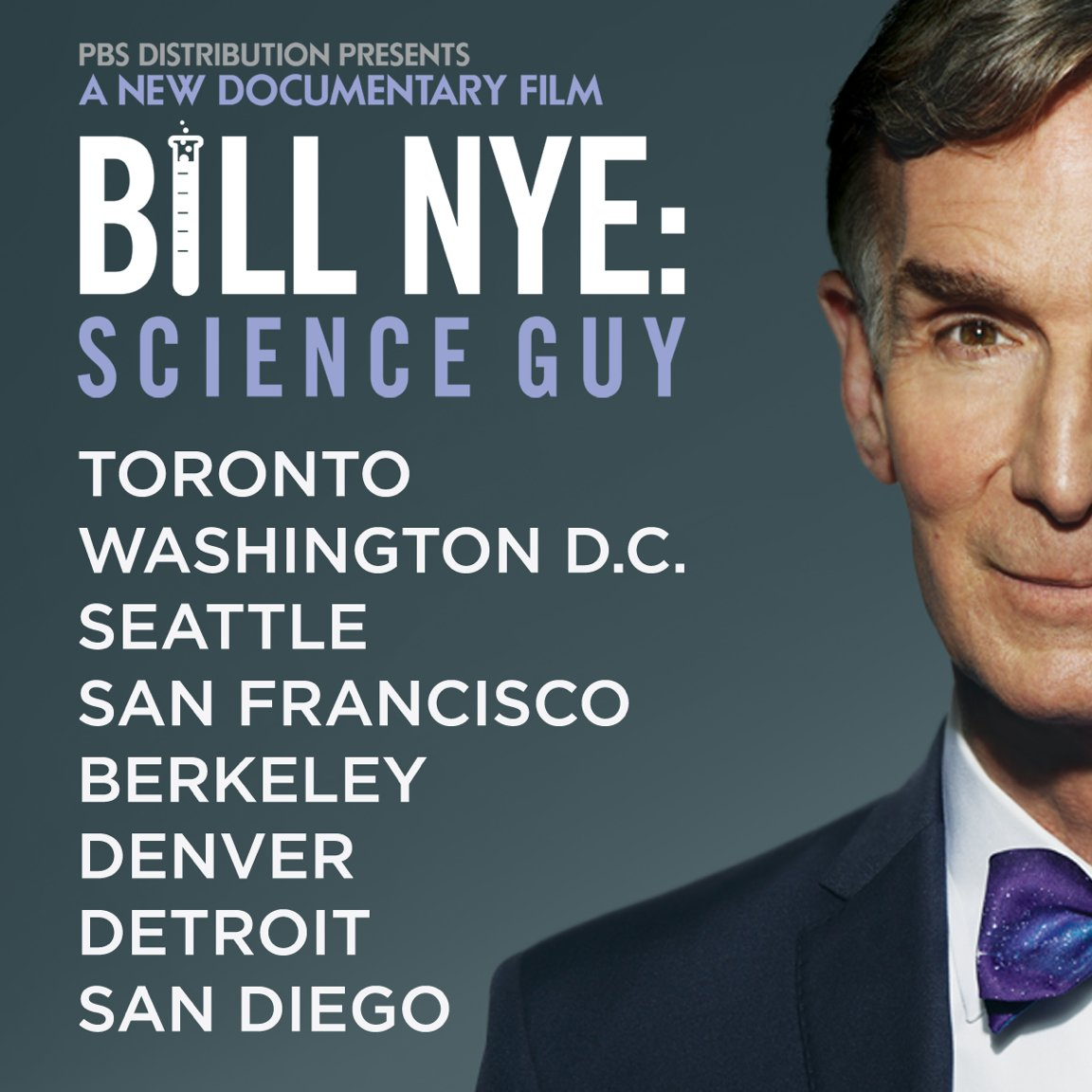 test Twitter Media - The @billnyefilm is screening in new cities this weekend → https://t.co/Qcy537Bint https://t.co/DfRhfV9cAL